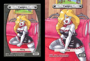 Custom Magic Token #9 - Vampire