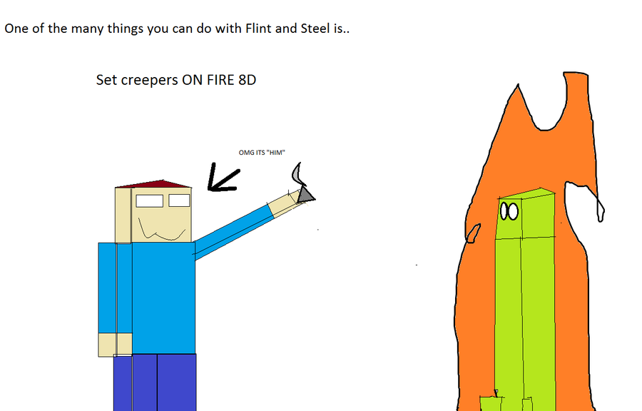 how to make a flint and steel on minecraft