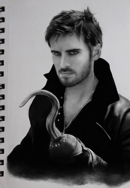 Killian Jones, Captain Hook by DominiqueWesson