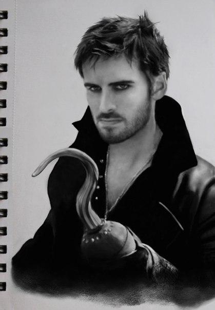 Killian Jones, Captain Hook by DominiqueWesson