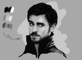 Sketch Killian Jones