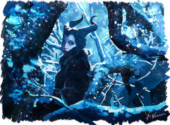 Maleficent by DominiqueWesson