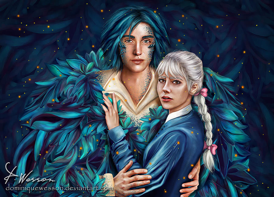 Howl and Sophie by DominiqueWesson on DeviantArt