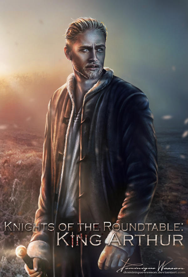 Knights of the Roundtable. King Arthur by DominiqueWesson