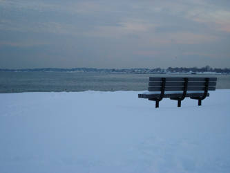 Winter Harbor by Mrs-Haldir