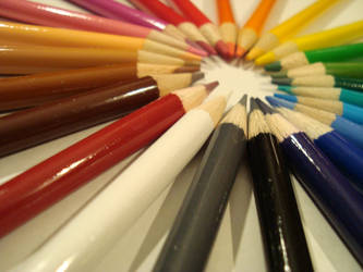 Colored Pencils by Mrs-Haldir