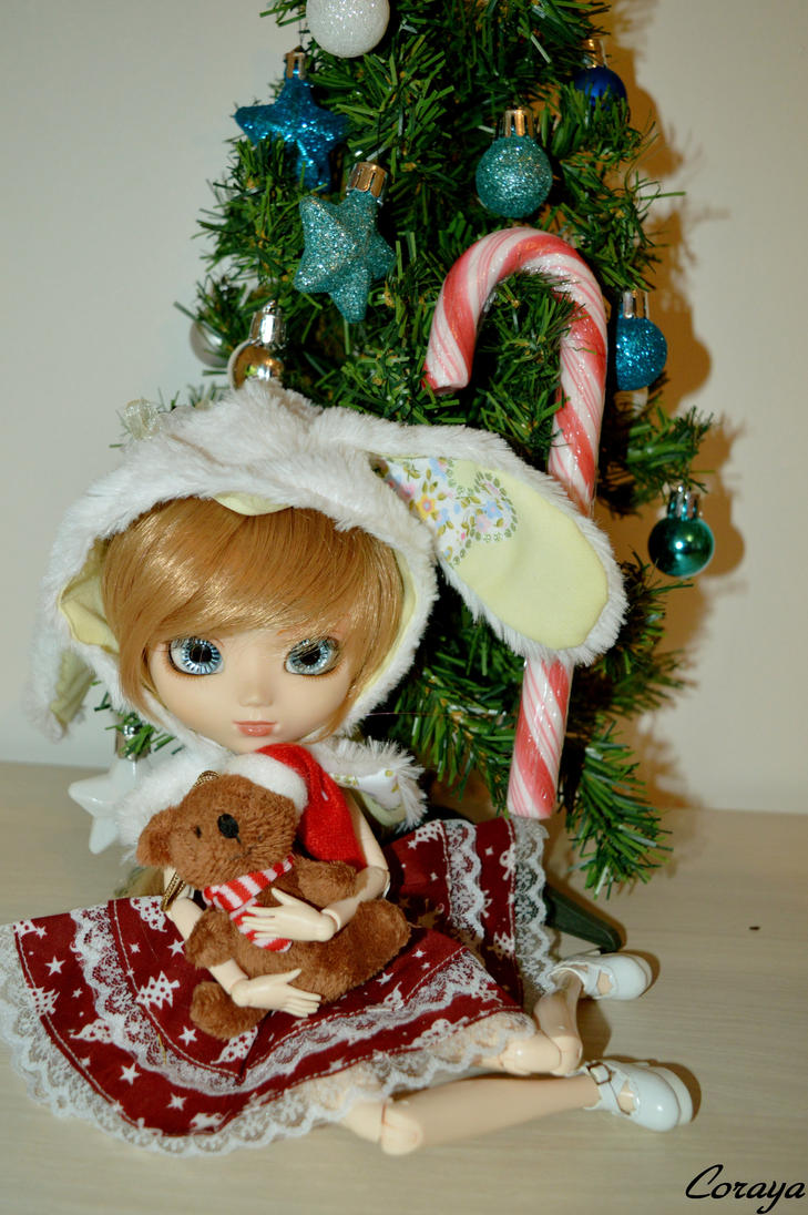 my pullip gaby CHRISTMAS by miichaelis