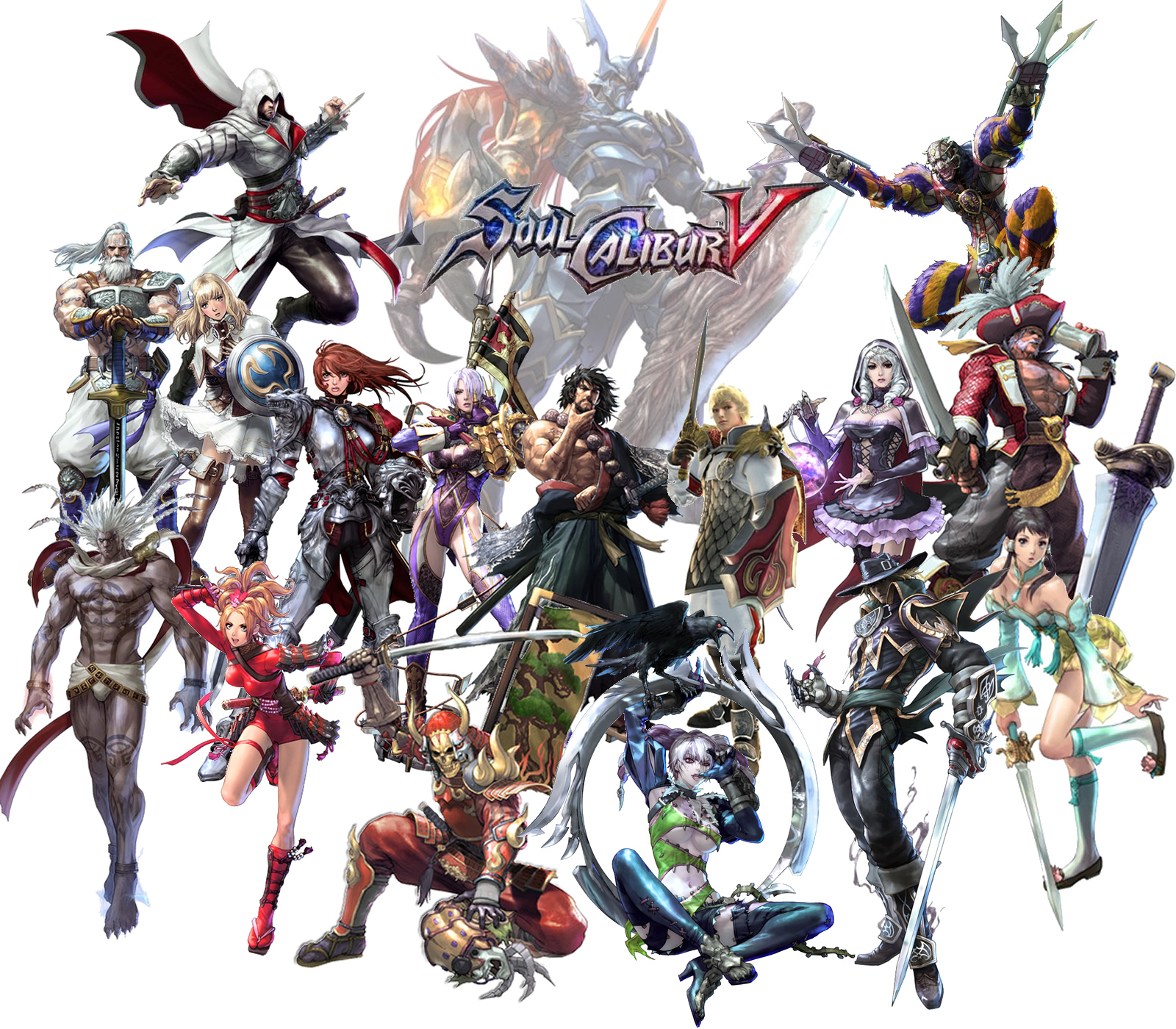 Soul calibur 5 wallpaper by lewiano on deviantart - Soul calibur wallpaper ...