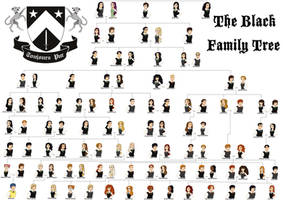 The Noble House of Black Family Tree