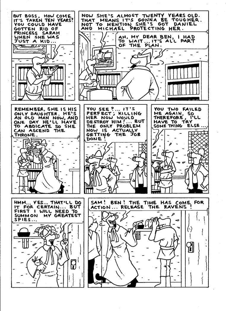 The Zander Adventure Page 19 by MDKartoons