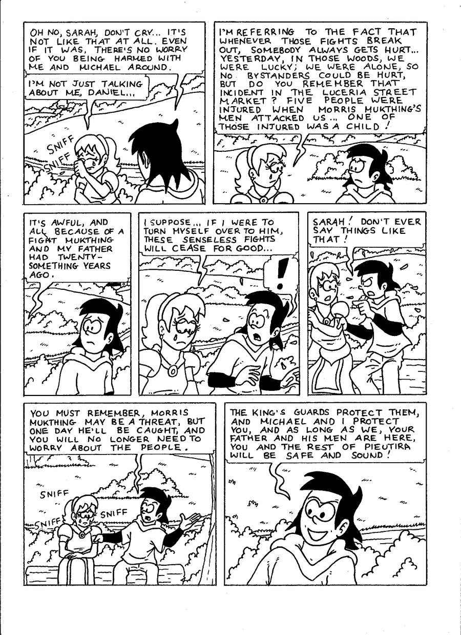 The Zander Adventure Page 23 by VGRetro