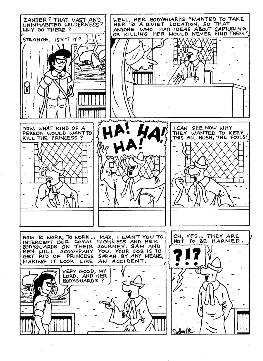 The Zander Adventure Page 28 by MDKartoons