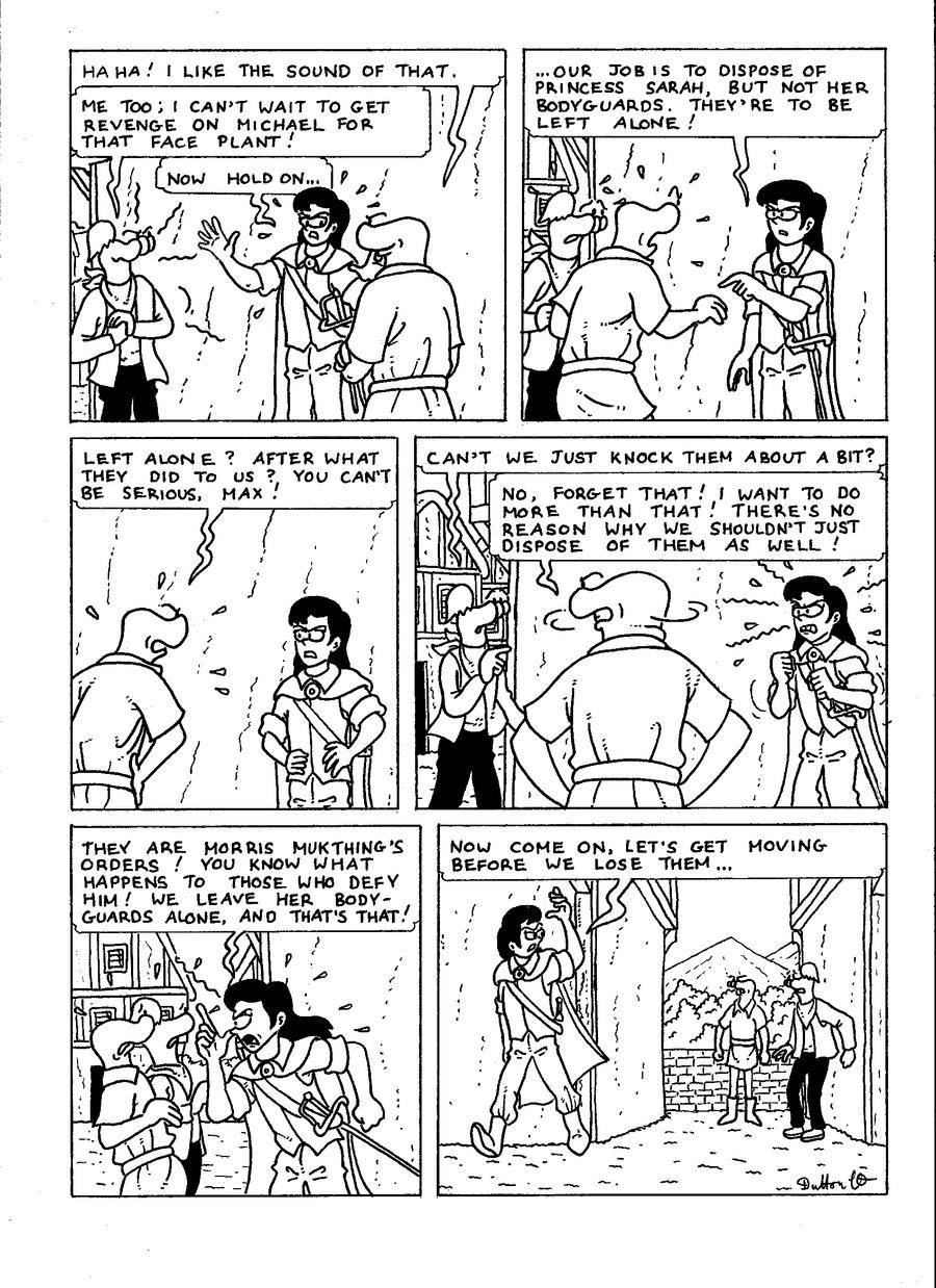 The Zander Adventure Page 34 by VGRetro