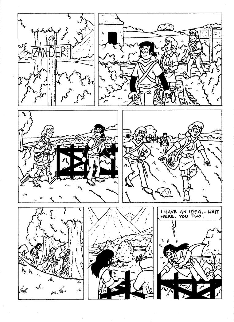 The Zander Adventure Page 37 by VGRetro
