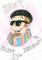 Happy Birthday Hewy by MDKartoons