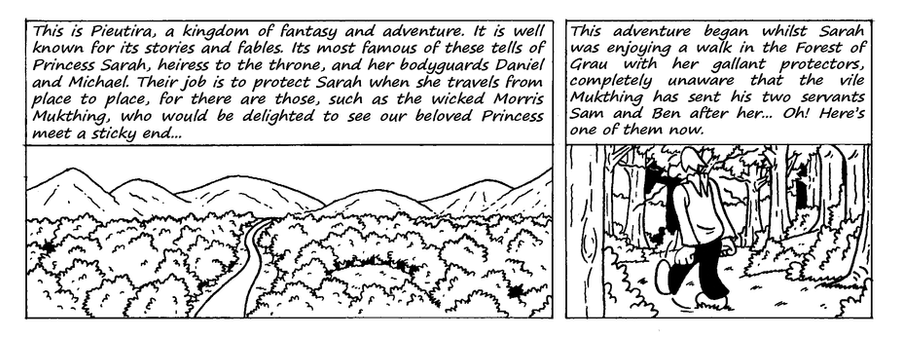Zander Adventure Strip 1 by MDKartoons