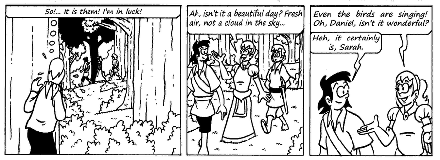 Zander Adventure Strip 3 by MDKartoons