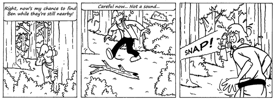 Zander Adventure Strip 4 by MDKartoons