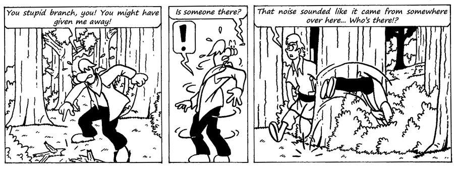 Zander Adventure Strip 5 by MDKartoons