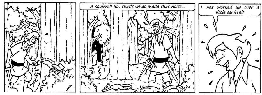 Zander Adventure Strip 7 by MDKartoons