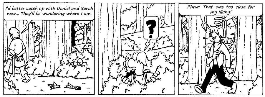 Zander Adventure Strip 8 by MDKartoons