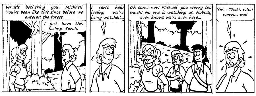 Zander Adventure Strip 10 by MDKartoons