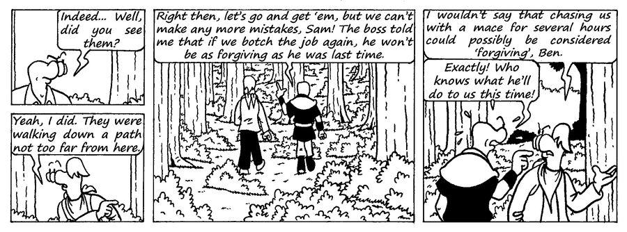 Zander Adventure Strip 12 by MDKartoons