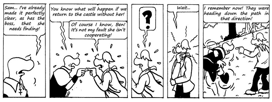 Zander Adventure Strip 14 by MDKartoons