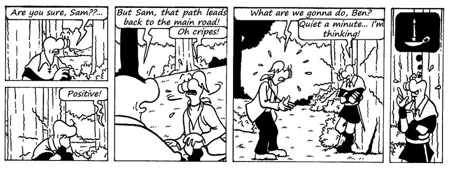 Zander Adventure Strip 15 by MDKartoons