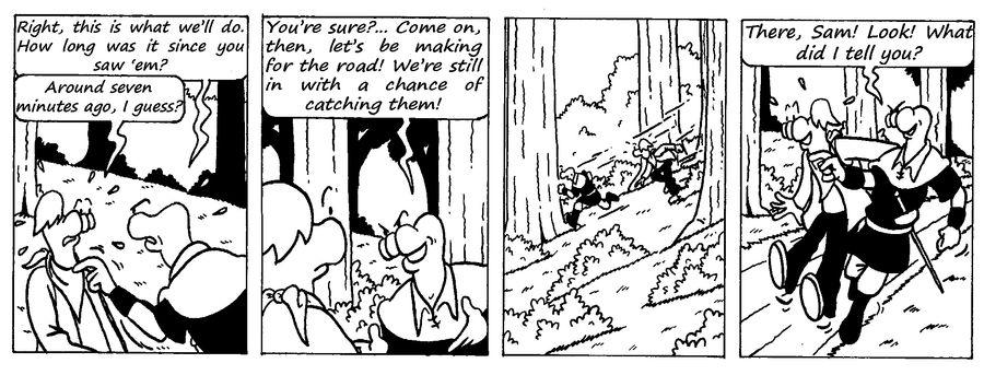 Zander Adventure Strip 16 by MDKartoons