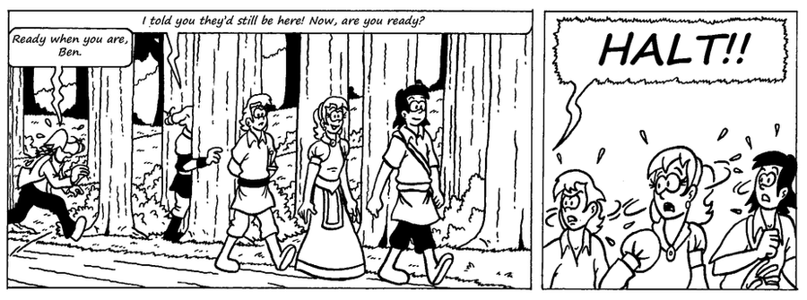 Zander Adventure Strip 17 by MDKartoons
