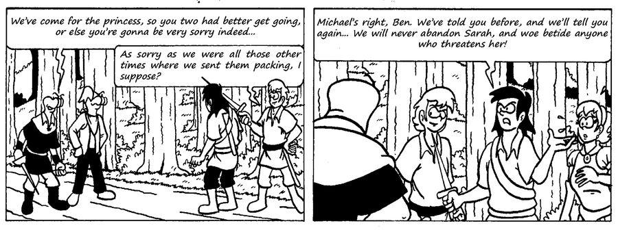 Zander Adventure Strip 19 by MDKartoons