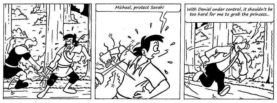 Zander Adventure Strip 21 by MDKartoons