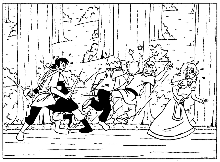 Zander Adventure Strip 26 by VGRetro