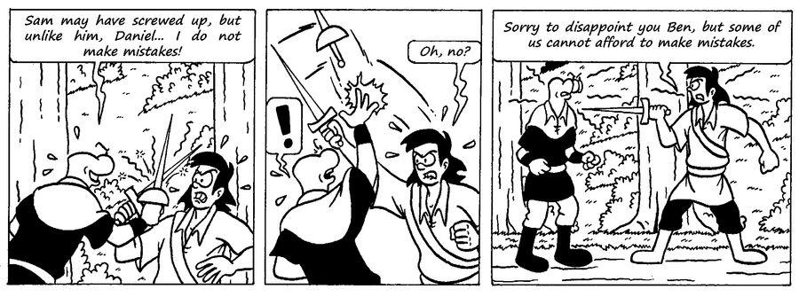 Zander Adventure Strip 31 by MDKartoons