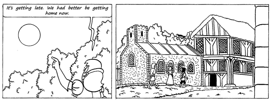Zander Adventure Strip 35 by MDKartoons