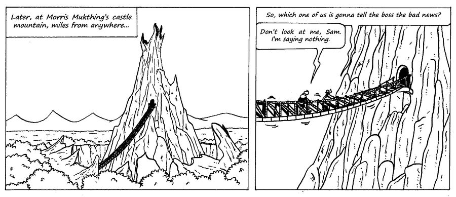 Zander Adventure Strip 36 by MDKartoons