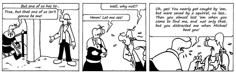 Zander Adventure Strip 37 by MDKartoons