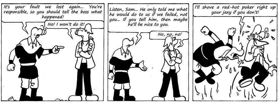 Zander Adventure Strip 38 by MDKartoons