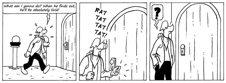 Zander Adventure Strip 40 by MDKartoons