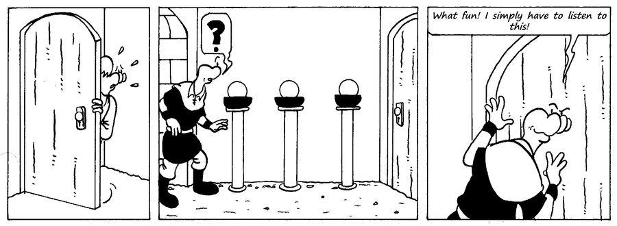 Zander Adventure Strip 43 by MDKartoons