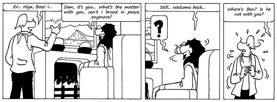 Zander Adventure Strip 44 by MDKartoons