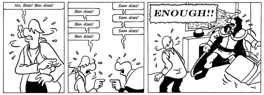 Zander Adventure Strip 47 by MDKartoons