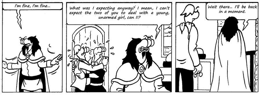 Zander Adventure Strip 50 by MDKartoons