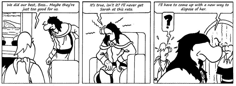 Zander Adventure Strip 54 by MDKartoons