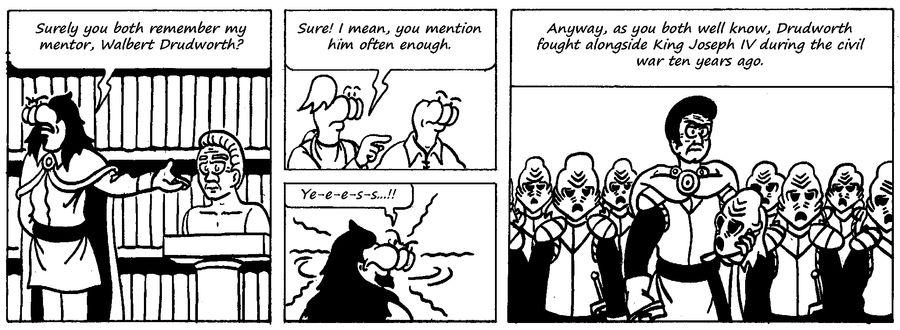 Zander Adventure Strip 57 by MDKartoons