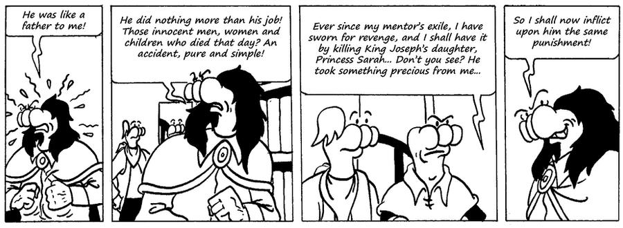 Zander Adventure Strip 59 by MDKartoons