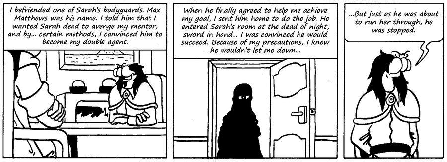 Zander Adventure Strip 61 by MDKartoons