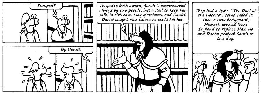 Zander Adventure Strip 62 by MDKartoons
