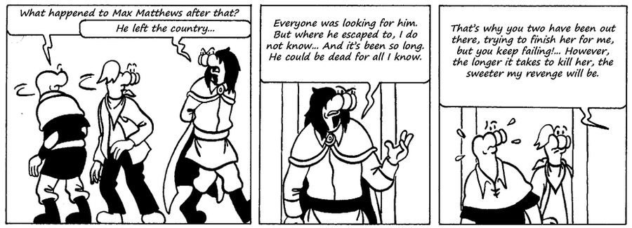 Zander Adventure Strip 63 by MDKartoons